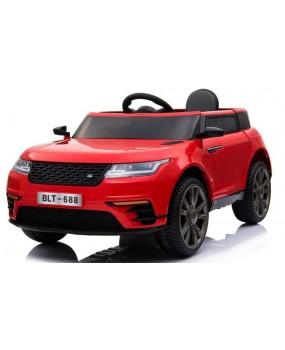 Elektrické autíčko Super-S červené